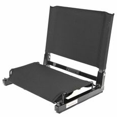 The Original Patent Pending StadiumChair Stadium Seat - This stadium seat will make even the most uncomfortable bleachers a pleasure to sit on.  Better yet, the back of the chair is fully customizable!!  Show off your child's name or school while you watch the game!