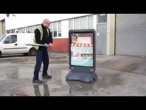 Advocate™ Product Testing https://www.youtube.com/watch?v=E-klZVYFZ4w  #GlasdonUK #PosterDisplaySign #ForecourtDisplay
