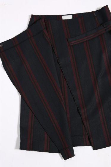 RUE BLANCHE ストライプスカート