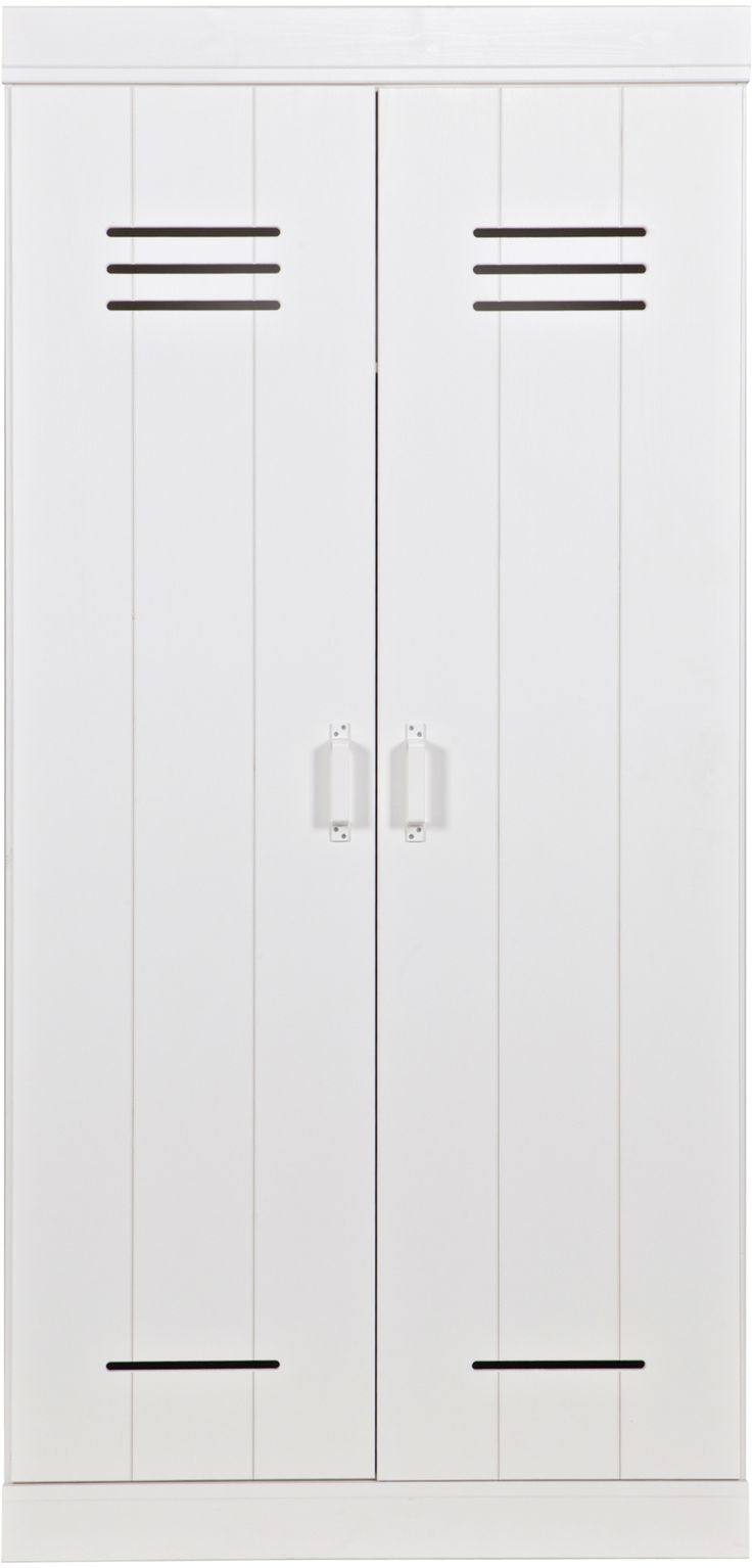 Connect locker 2-deurs wit - Woood