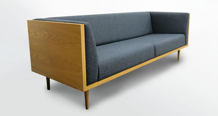 Our Miter Lounge - with natural woolen felt upholstery.