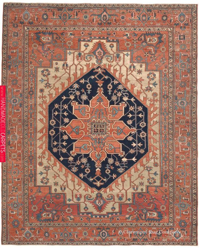 Serapi Northwest Persian 9ft 10in X 12ft 2in Circa 1875 For The Love Of Rugs Pinterest Rugs Rugs On Carpet And Persian Rug Rugs Rugs On Carpet Persian Carpet