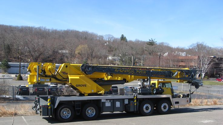 Telescopic Cranes Vancouver : Our grove line of mobile telescopic cranes with patented