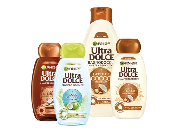 Lo Shampoo Ultra dolce acqua di cocco e aloe vera è privo di siliconi, parabeni e derivati del petrolio. Inci e suggerimenti per l'utilizzo.