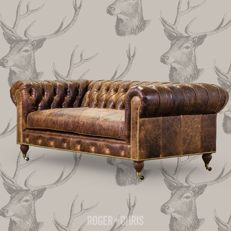 Schön Classic Chesterfield Couch Style With Modern Comfort. Our Higgins Sofa In  Old World Brompton With