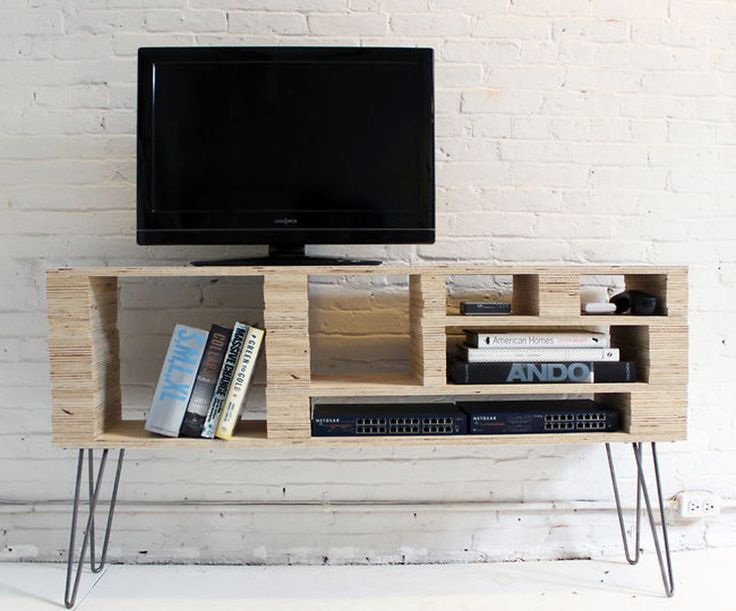How To Make a Media Console For Under 100 Diy tv stand