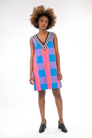 Picnic V-Neck Dress