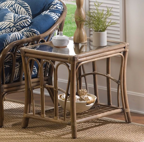 Wicker Coffee Table And End Tables: 142 Best Images About Wicker Tables On Pinterest