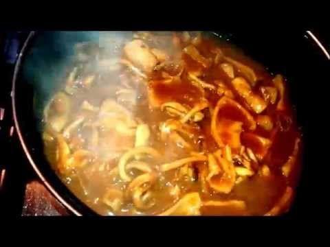calamares encebollados - YouTube