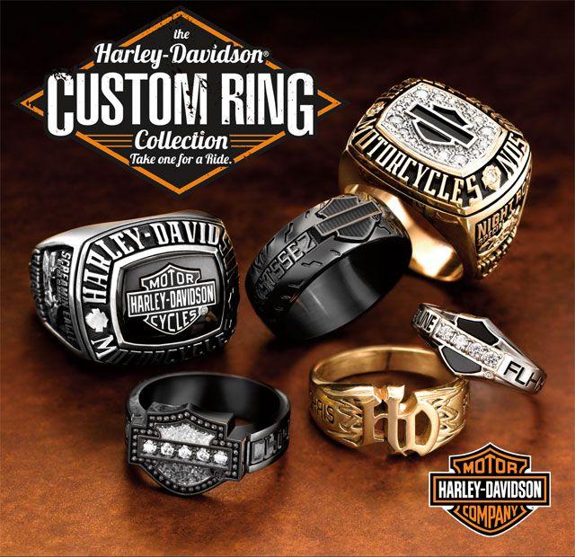 Harley-Davidson® Rings – Jostens – Custom Rings