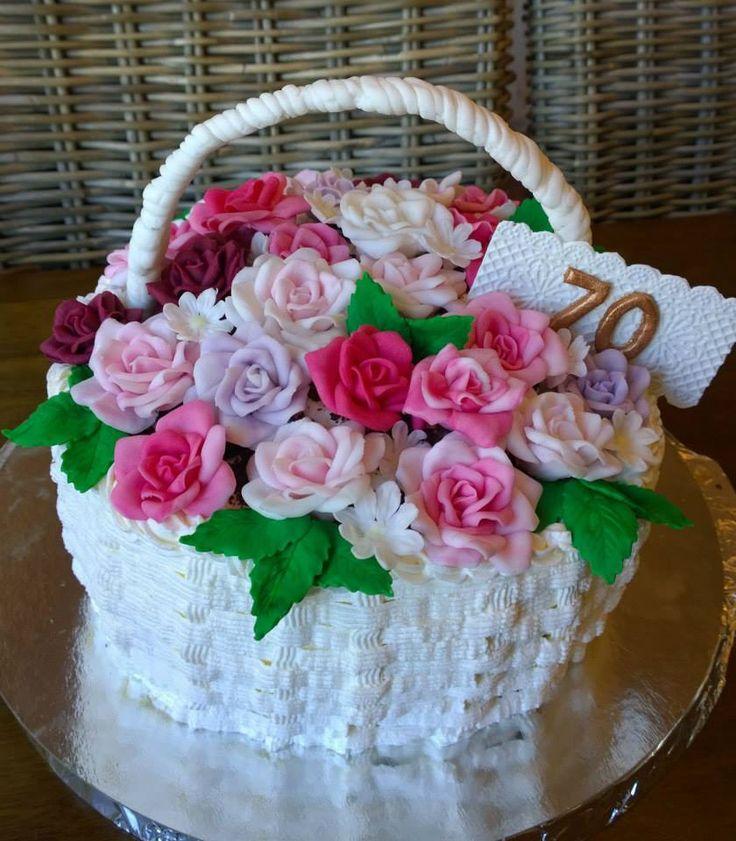 Kukkakori kakku