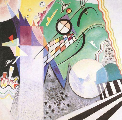 No. 236 Open Green - 1923 - Kandinsky Vassili - Opere d'Arte su Tela - Listino prodotti - Digitalpix - Canvas - Art - Artist - Painting