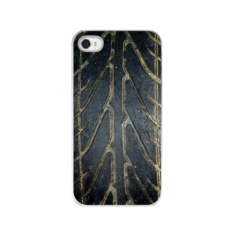 A Little Mud on the Tires iPhone Case