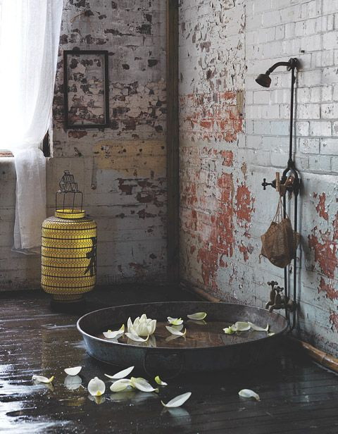 Bathroom Inspiration by Sibella Court