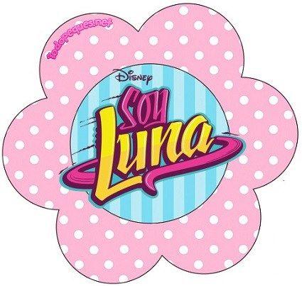 Toppers Soy Luna - Stickers Soy Luna - Imprimibles Soy Luna- Etiquetas de Soy Luna