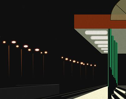 "Check out new work on my @Behance portfolio: ""illustration 