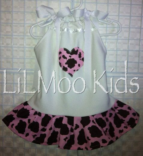 BOUTIQUE baby Custom Girls Clothing Cow by TheCutestCowgirl