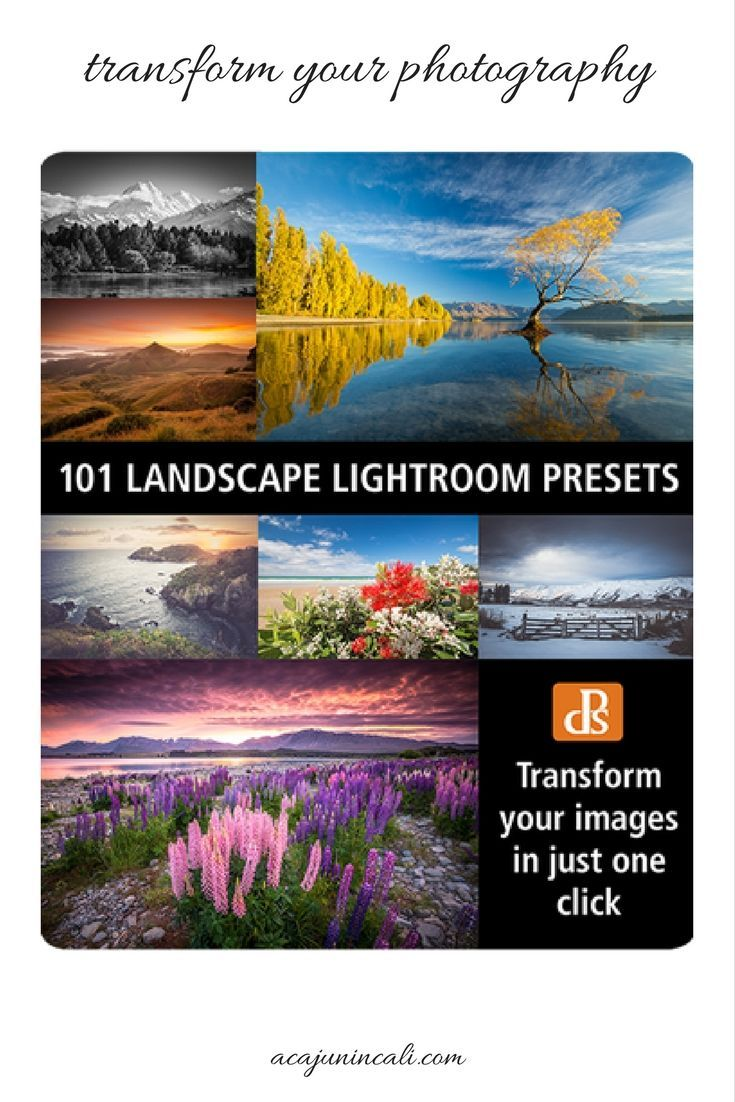 Landscape photography is one of the most enjoyable hobbies. But why not turn your photography hobby into a thriving business? Enhance your landscape photos with improved photo editing techniques by using #Lightroompresets. Get this #Lightroom preset bundle for landscape photography for the low price of $49 from Digital Photography School, a leader in online #photography education. Click thru to learn more! #ad