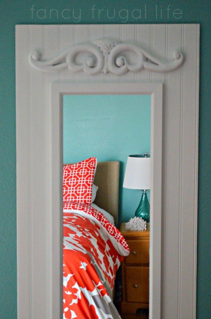 DIY Upgraded Full Length Mirror (Master Bedroom Project)  