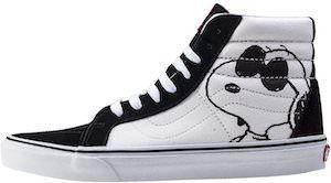scarpe vans cartoni animati