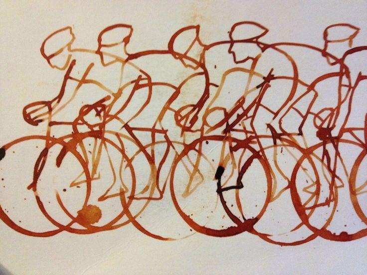 Eliza Southwood   Tour de France 2014   Cycling art