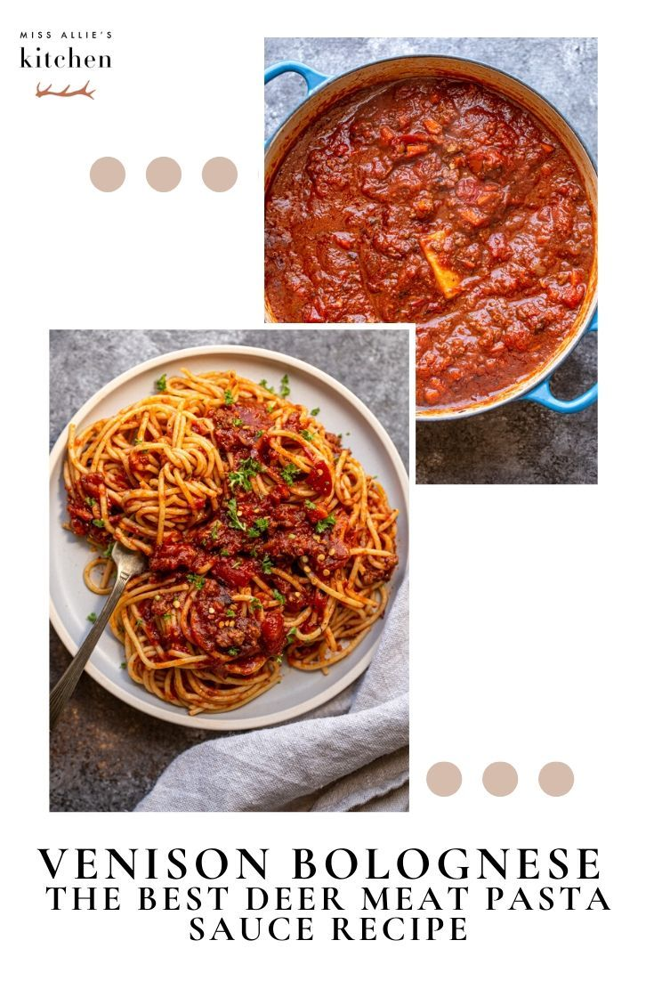 Venison Bolognese The Best Deer Meat Pasta Sauce Recipe In 2020 Recipes Pasta With Meat Sauce Pasta Sauce Recipes