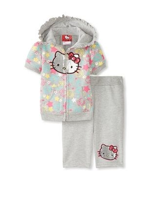 71% OFF Hello Kitty Baby Printed Tack Set (Heather Grey)