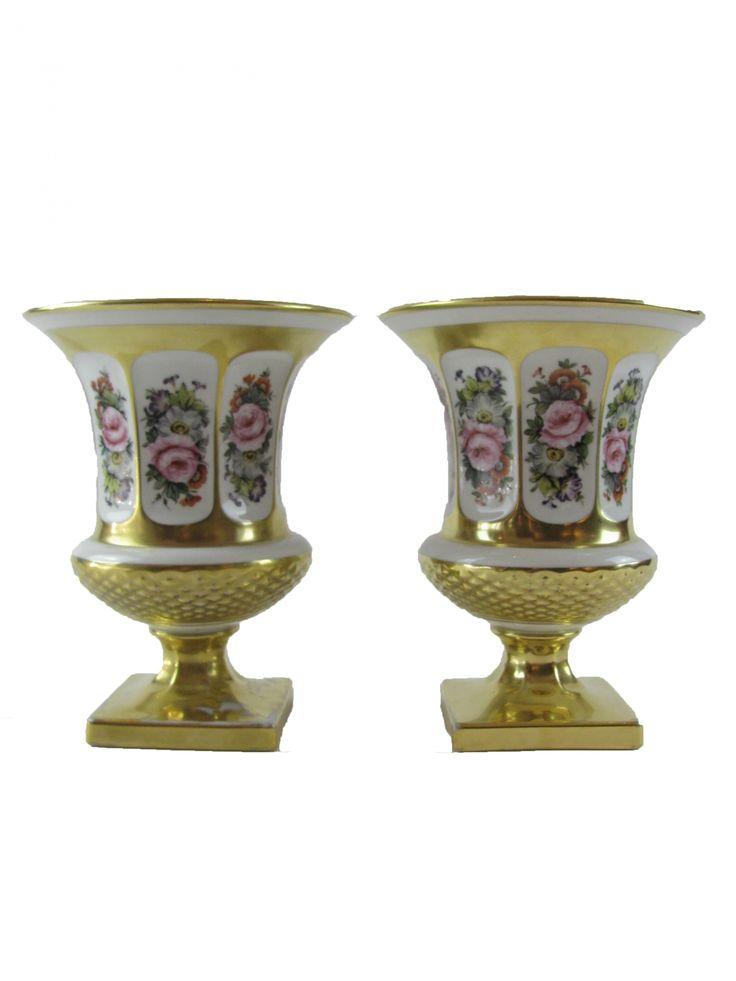 Coppia di vasi in porcellana - Epoca: 1950