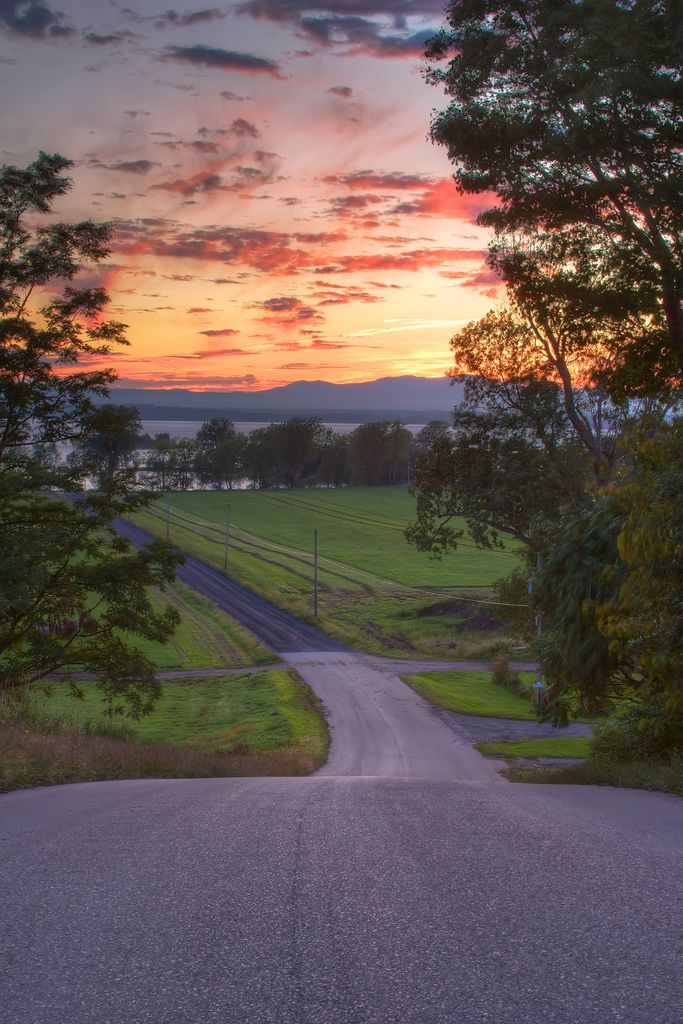 "When you find a a road named ""Sunset View,"" you simply have to go take a look."