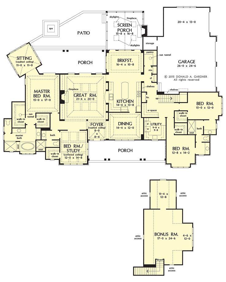 142 best House Plans images on Pinterest | House floor plans ...