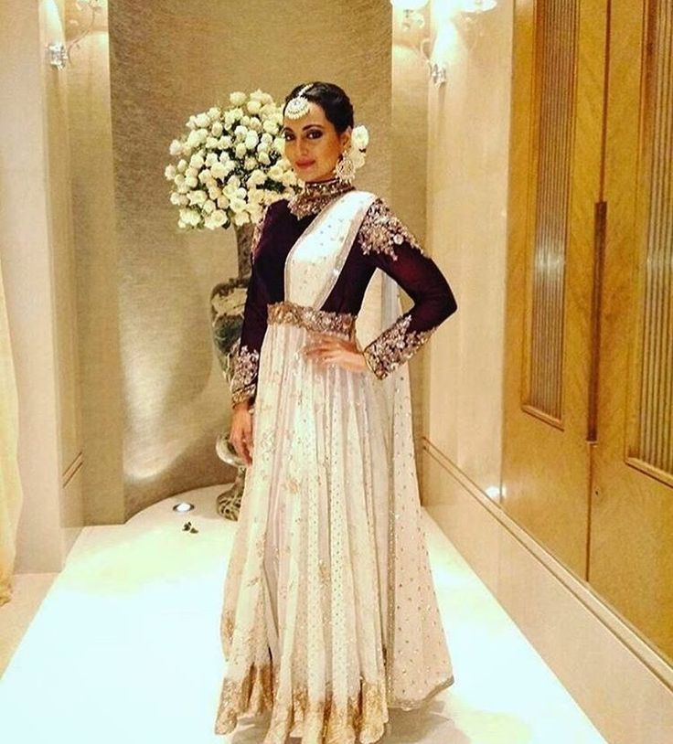 Manish Malhotra # Sonakshi Sinha # suit # Anarkali # Indian wear #