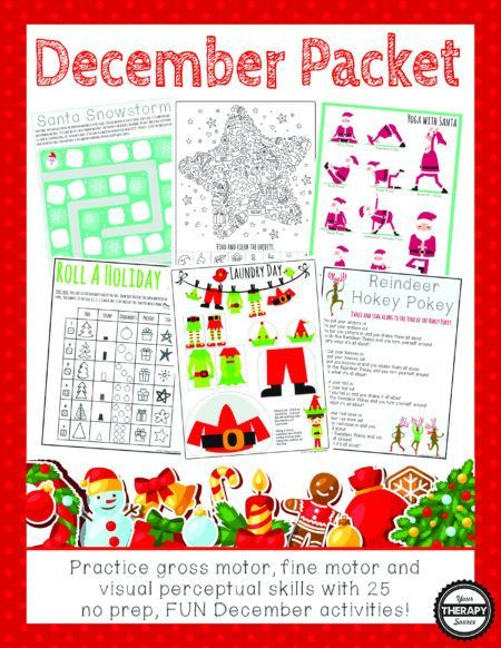 8727 best sensory activities for kids images on pinterest for Christmas gross motor activities