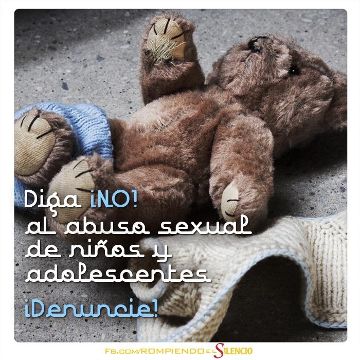Destruye el abuso adolescente
