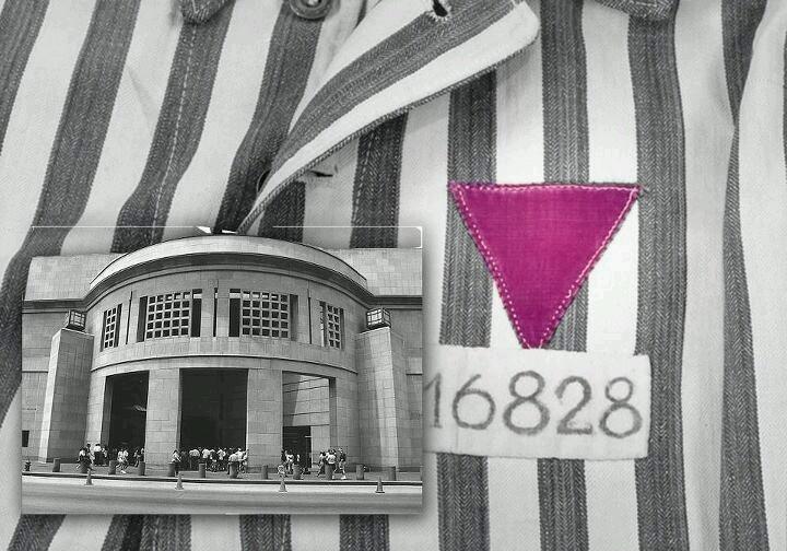 Museu do Holocausto em Washington DC - triângulo roxo - Testemunhas de Jeová