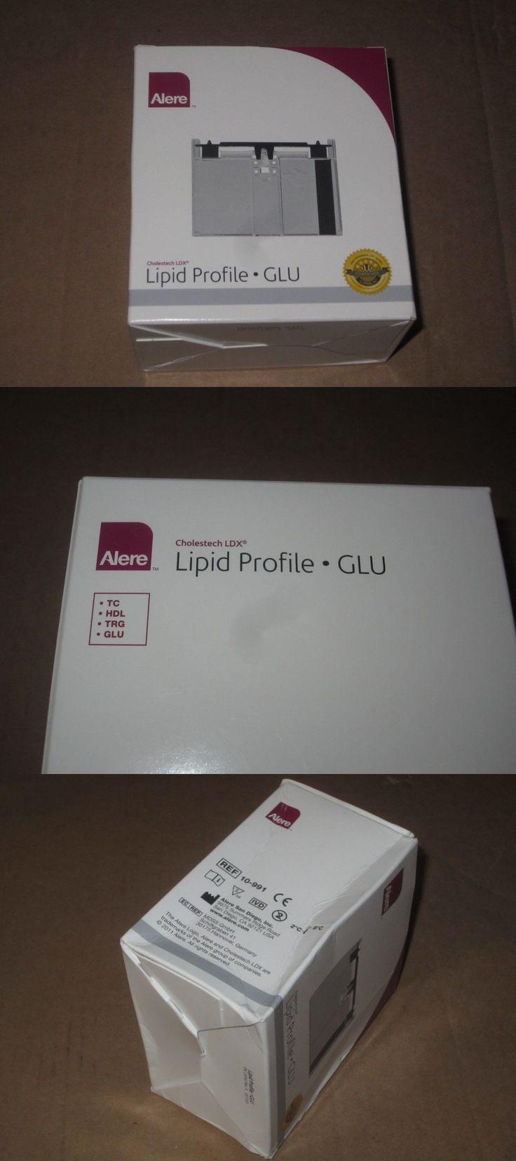 Cholesterol Testing: 10 Alere Full Lipid Profile 3 31 18 Cholestech Ldx Tc Hdl Trg Glu Cassettes Box -> BUY IT NOW ONLY: $42.49 on eBay!