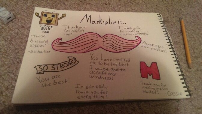 I made this for my Favourite YouTuber Markiplier! Please no Repins or bad comments!! You can comment on it! But nothing negative! Thanks! -Cassidy