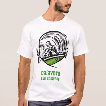 calavera surf company - logo shirt - tap, personalize, buy right now!