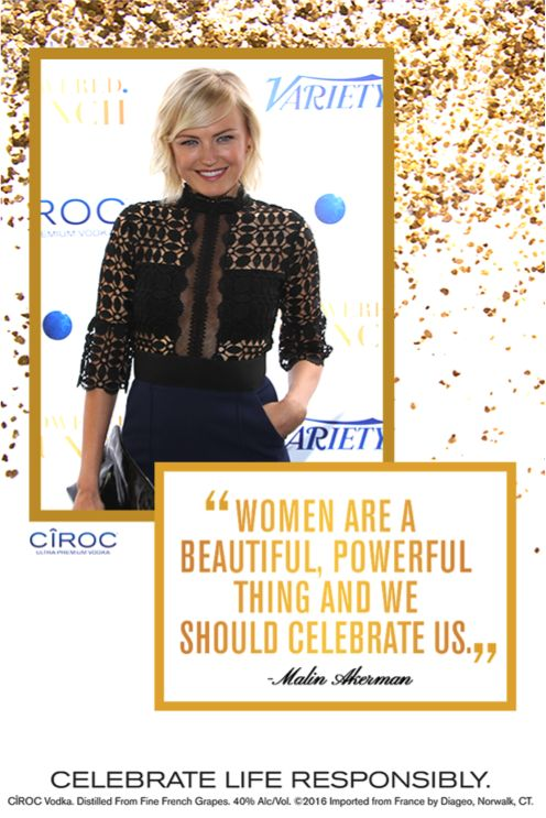 CÎROC Vodka partnered with Variety and WWD to invite women to brunch with a purpose as part of the Empowered Brunch Series. One woman who was recognized is role-model and actress, Malin Akerman. From self love to bringing in your own power, Akerman and some of the biggest female names in the entertainment, music and sports industry toasted to these accomplishments. The Empowered Brunch Series reminds women what it means to be an empowered female to celebrate each other's successes.