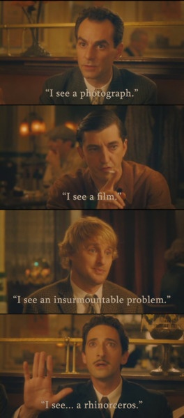 Scene from Woody Allen's Midnight in Paris