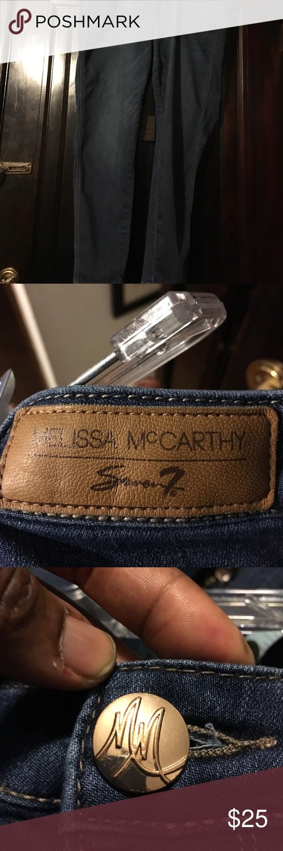 Classic Melissa McCarthy, skinnies Melissa McCarthy skinny jeans, excellent condition no tears or holes. Melissa McCarthy Jeans Skinny