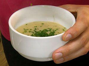 Jemná a lehká hrachová polévka