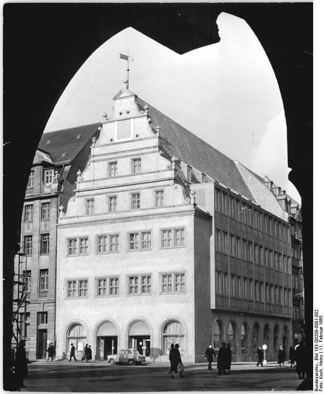 """Leipzig, """"Alte Waage"""", 1550-t."""