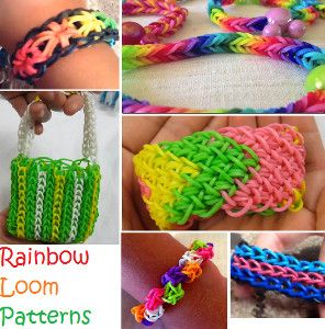 Rainbow Loom Patterns | AllFreeKidsCrafts.com