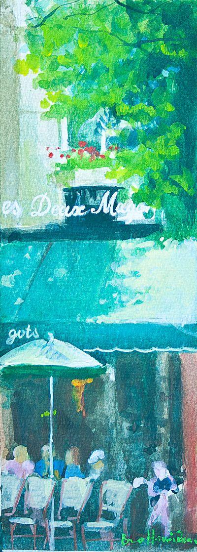 Coffee Les Deux Magots - Paris - France
