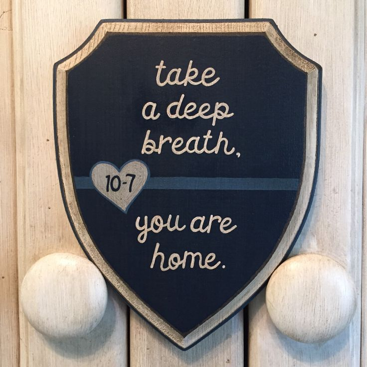 "Thin Blue Line, Home ""10-7"" - 5x7 Shield Wood Plaque, LEO Home Decor, Law Enforcement Support, Handpainted, Antiqued Distressed Wood  by EllieDeeDesigns on Etsy https://www.etsy.com/listing/217092719/thin-blue-line-home-10-7-5x7-shield-wood"