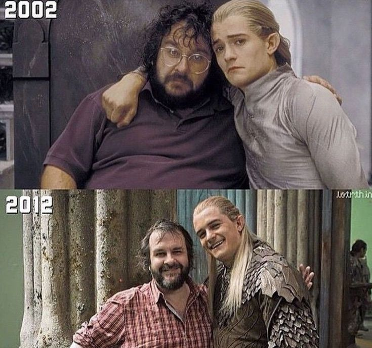 they haven't aged a bit.....