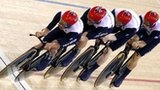 Steven Burke, Ed Clancy, Peter Kennaugh & Geraint Thomas - Men's Team Pursuit Cycling Track Gold