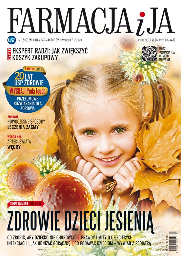 "Cover of ""Farmacja i Ja"" September 2012 issue."