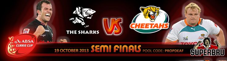 2013 #CurrieCup Semi-Final Action @Keith Ho BetXchange ! Where do your Allegiances stand ? #Humansprit !
