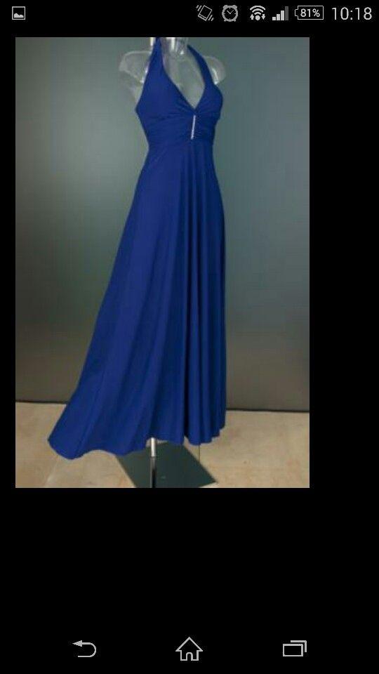 Ook een hele mooie jurk en mooie kleur